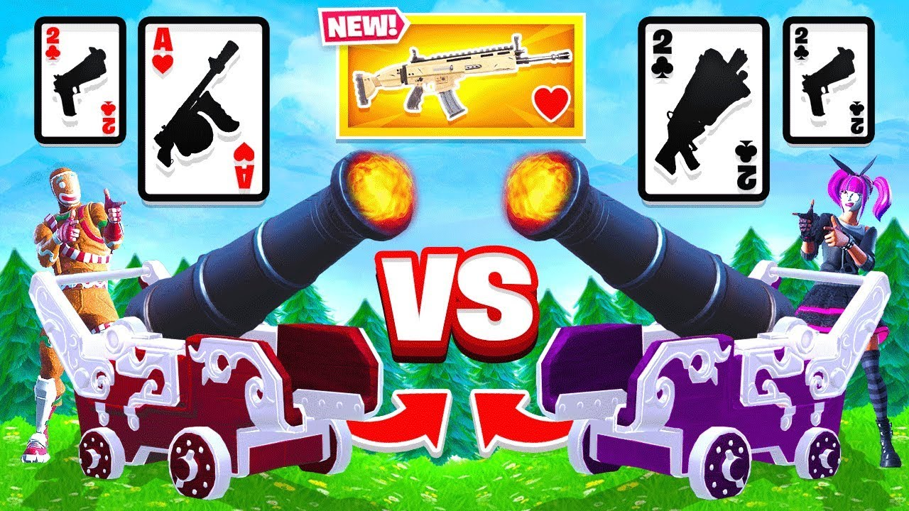 War Game Mode New Card Game In Fortnite Battle Royale
