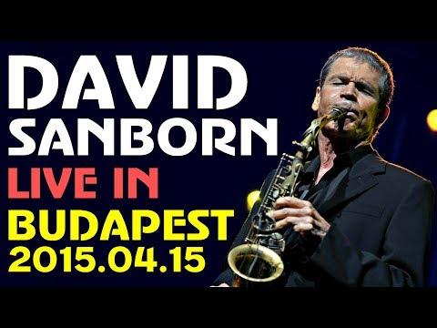 David Sanborn Band - Live in Budapest 2015    Full Concert    HD 1080p