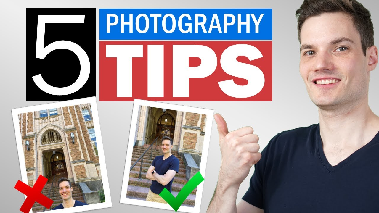 📸 5 Best Photography Tips to Instantly Improve YOUR Photos