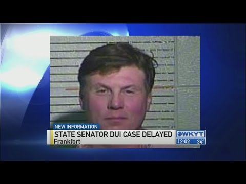 Senator's attorney files motion to dismiss DUI charges based on state law