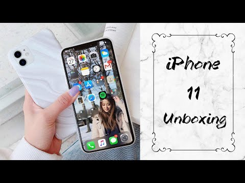 IPhone 11 UNBOXING + Set Up!