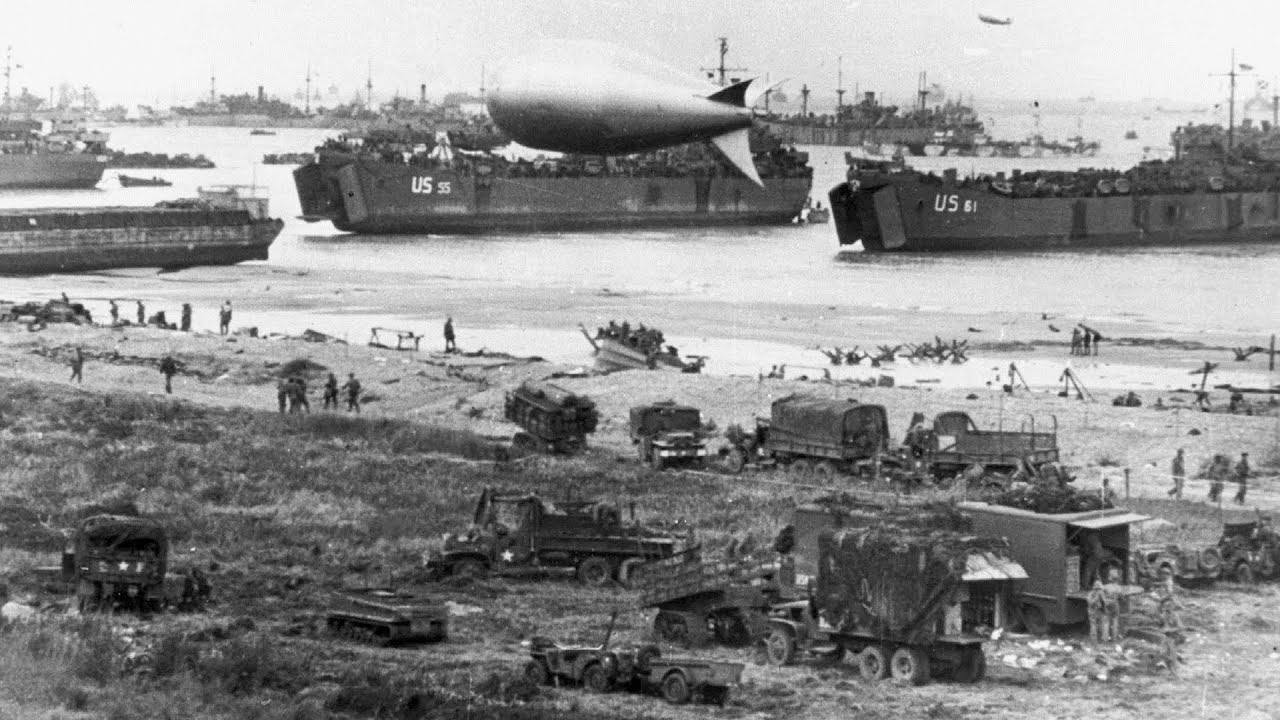 Normandy Invasion. D-Day (June 6, 1944) - YouTube