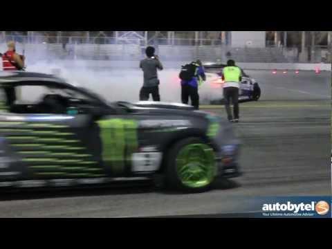 Rhys Millen Wins Formula Drift Video Las Vegas 2012 - RMR Racing Hyundai Genesis Coupe Drift Car