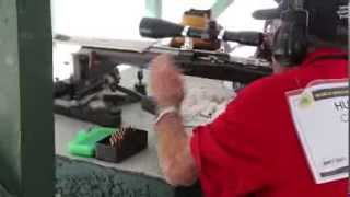 World Benchrest Champion Charles Huckeba Shows His Craft Shooting A Small Group At 200