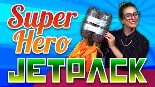 Superhero Jetpack Craft | Drew Pendous | A Cool School Craft With Crafty Carol