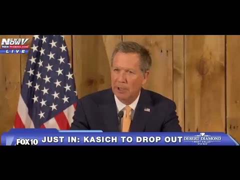 John Kasich EMOTIONAL Concession Speech Drops out of Presidential Race LIVE 5/4/16