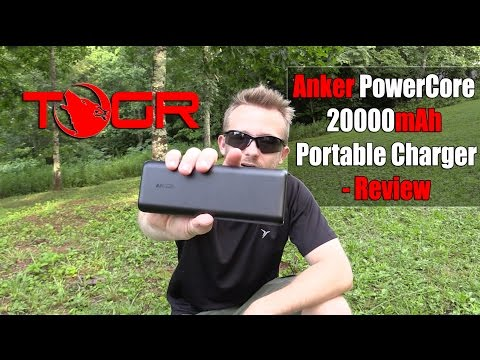 Tons Of Power! - Anker PowerCore 20,000mAh Portable Charger Review