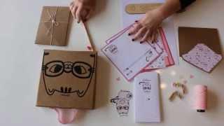 Milou & Pochoclo ~ Stationery Kits