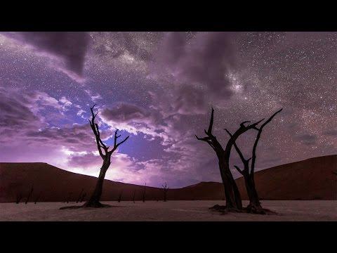 Timelapse Captures Beautiful Night Sky