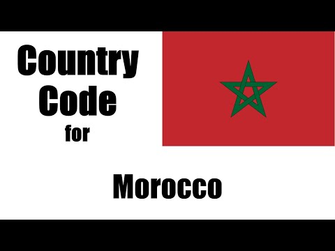 Morocco Dialing Code - Moroccan Country Code - Telephone Area Codes In Morocco