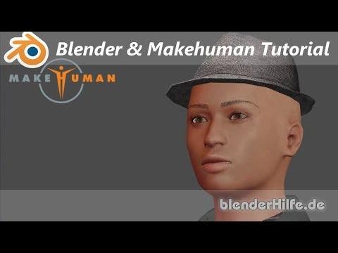 Tutorial - Makehuman & Blender - kostenlose 3D Charaktere erstellen