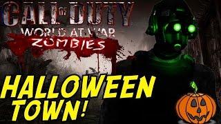 """INTENSE SPOOKY ZOMBIES!"" (HORROR MAP) - Custom Zombies ""HALLOWEEN TOWN"" FINALE"