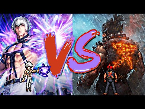 Orochi vs Akuma