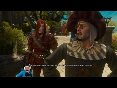 Witcher 3: Blood and Wine - 108 - A Portrait of the Witcher as an Old Man