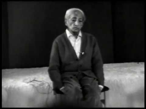 J. Krishnamurti - Brockwood Park 1981 - Teachers Discussion 4 - Leisure