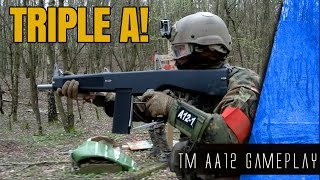 AIRSOFT ACTION AA12 Tokyo Marui Gameplay Area-M (GER)