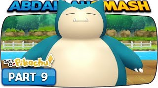 Pokemon Let's Go Pikachu & Eevee - Part 9: SNORLAX & POKE FLUTE! (100% Walkthrough)