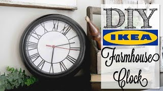 diy-modern-farmhouse-clock-ikea-hack