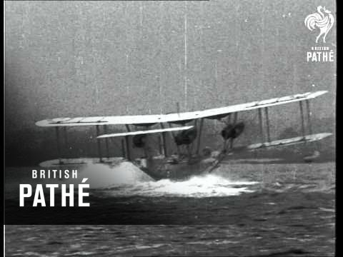Battleship Of The Air - British Flying Boat (1934)