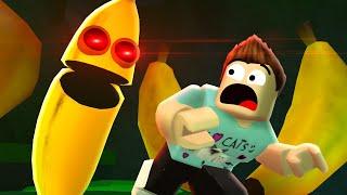 YOU SLIP = YOU DIE (Roblox Banana Eats)