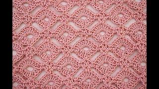 Stitch of crochet circles. #crochet #majovel crochet