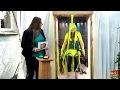 Gunged Girl Quiz in Messyworld 'Egg Timer' Gunge Tank
