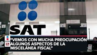 Visión de la Coparmex de la miscelánea fiscal