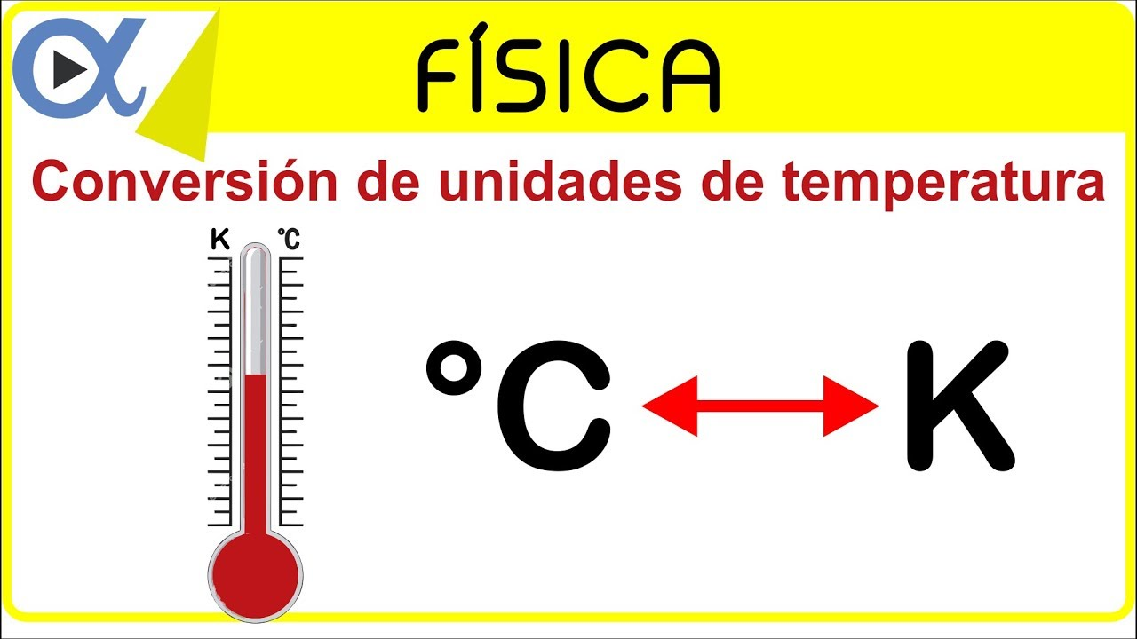 Conversion De Unidades De Temperatura Grados Celsius O Centigrados C A Kelvin K Vitual