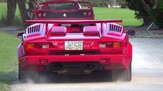 Revs Acceleration Lamborghini LaFerrari Bugatti Veyron Mansory Ferrari F40 F50 FXX Porsche 918 GTR