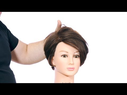 Short Layered Bob Haircut Tutorial