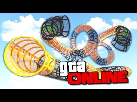 ЭПИЧНАЯ ЗАКРУЧЕННАЯ КИШКА В GTA 5 ONLINE ( ГОНКИ )