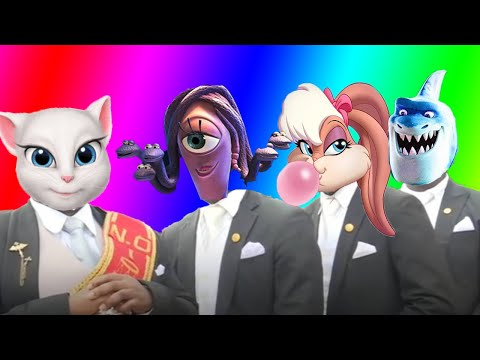 coffin-dance-song-(cover)---talking-tom-&-rumble-&-bugs-bunny-and-lola-bunny-&-monsters-university