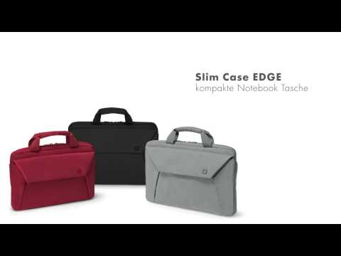 Slim Case EDGE 12-13.3 / 14-15.6 - black / grey / red German