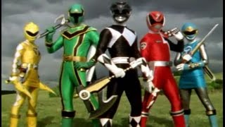 Repeat youtube video Power Rangers Top 10 Team Ups
