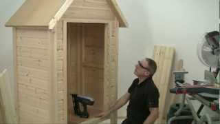 Build It With Bosch Mini Shed Part 4