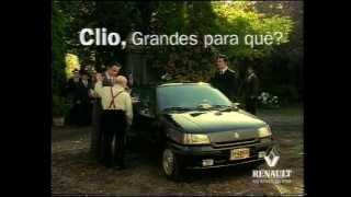 """Renault Clio """"Don Vicenzo"""" Anuncio 1995"""