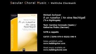 Michael Aschauer - Á un ruiseñor (An eine Nachtigall)