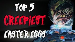 Top 5 Creepiest Video Game Easter Eggs!