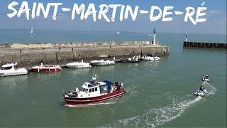 Saint-Martin-de-Ré ; île ; Petit Port ; Digue ; Bateau ; Panorama ; Charente Maritime ; France