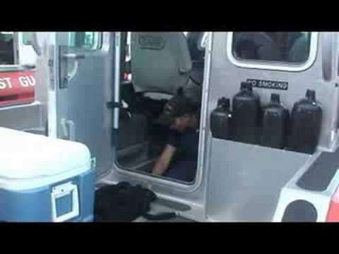 Hurricane Ike Preparations at Coast Guard Command Post