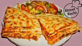 Börek mit Hackfleich und Champignons | Ahmet Kocht | türkisch kochen | Folge 274