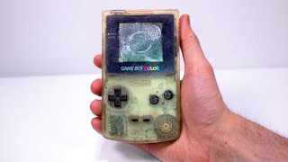 I Restored This 2$ Eḃay Junk Game Boy Color - Retro Console Restoration & Repair