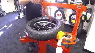 Harley Rear Tire Change #2