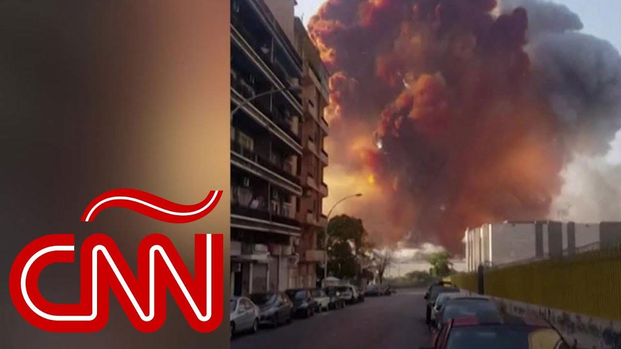 Nuevas imágenes de la explosión en Beirut y más información desde el Líbano
