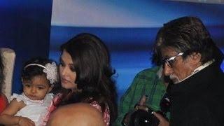 Aishwarya Rai With Aaradhya Celebrating Her Birthday