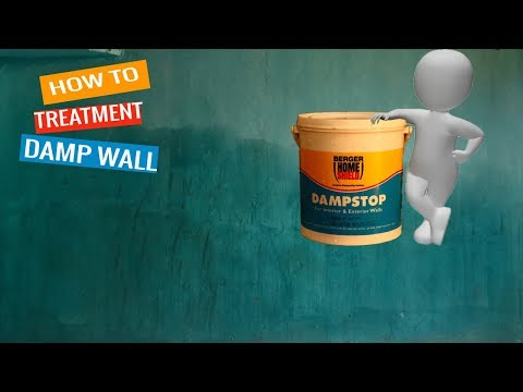 How To Treatment Damp Proofing Walls Step By Step Explan/Berger Express Painting/rising Damp
