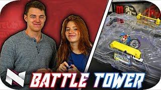 Battle Tower VS GIRLFRIEND!! Beyblade Burst Battle Tower BATTLES!!