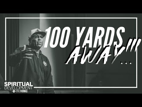 Donnie McClurkin - WATCH! Eric Thomas on 100 Yards Away