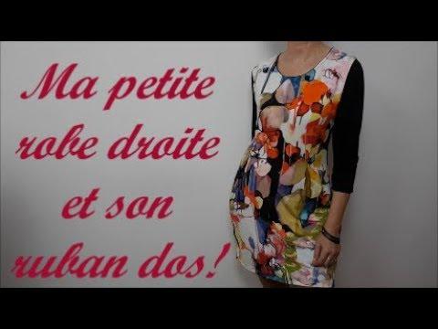 DIY couture facile: Comment coudre ma robe droite et sans aucun patron!