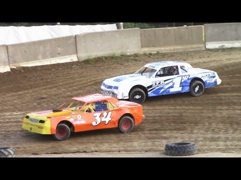 Pure Stock Heat Two | Old Bradford Speedway | 7-9-17